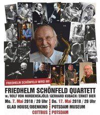 """Bild zu Urgestein des Jazz: """"Friedhelm Schönfeld wird 80!"""""""